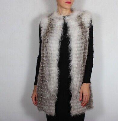 Manzoni 24 Fox Fur Vest Italy