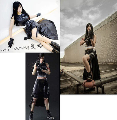 Cool Costums (Cool !  FF7 TIFA_1 Of  Final Fantasy VII Cosplay Costume Any Size Custom Outfit)