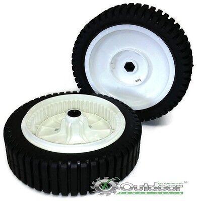 Set of 2 Mower Drive Wheels 700953 150340 193144 532193144