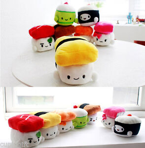 6-SUSHI-Japan-Plush-Pillow-Cushion-Doll-Toy-Gift-Bedding-Cute-Kawaii-Decoration