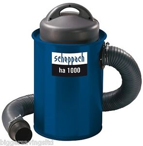SCHEPPACH-HA-1000-DUST-EXTRACTOR-EXTRACTION-C-W-5-PIECE-COUPLING-KIT-240V