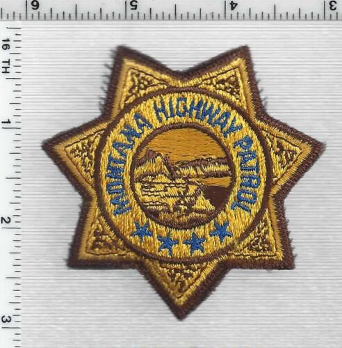 Montana Highway Patrol 1st Issue Cap/Hat Patch