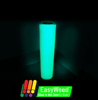 Siser Easyweed Glow in the Dark HEAT TRANSFER VINYL (HTV) 15