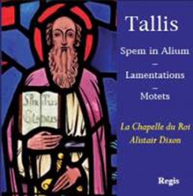 CD TALLIS SPEM IN ALIUM LAMENTATIONS MOTETS HEAR THE VOICE IF YE LOVE ME SACRUM