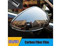 Carbon Fibre Vinyl Wrap Bubble/Air Free