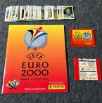 Panini - Euro 2000 - Empty album + 2 sealed packs + 124 loos