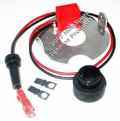 Electronic Ignition Conversion Kit: Non-vac, 4-cyl Autolite Distributor 3aut4u2