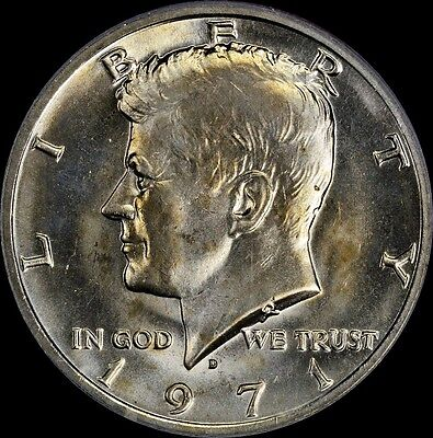 Click now to see the BUY IT NOW Price! 1971 D KENNEDY HALF .50 CENT PCGS MS65 DDO DOUBLE DIE OBVERSE VARIETY TONED OLD