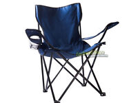 Fold up camping/fishing chair with cup holder