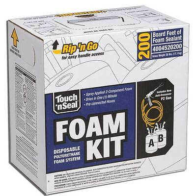Touch N Seal U2-200 Spray Closed Cell Foam Insulation Kit 200bf - Free Shipping