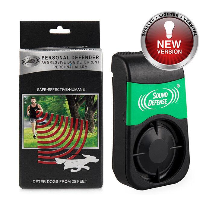 New Smaller K9 Warning Device Aggressive Dog Deterrent Sonic Repeller + Dog Horn