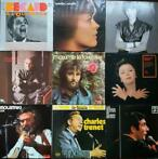 Charles Aznavour, Gilbert Becaud, Edith Piaf and others -