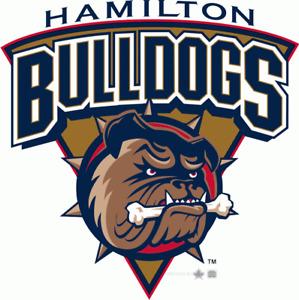 Hamilton Bulldogs - Oct 22 @ 2pm