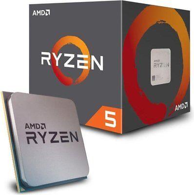 AMD Ryzen 5 1600 Prozessor 6x 3.20GHz boxed Sockel AM4 (YD1600BBAEBOX)