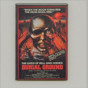 BURIAL GROUND MAGNET.