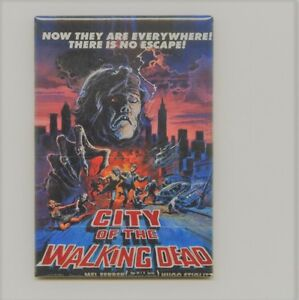 CITY OF THE WALKING DEAD MAGNET.