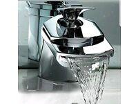 Cascade basin tap