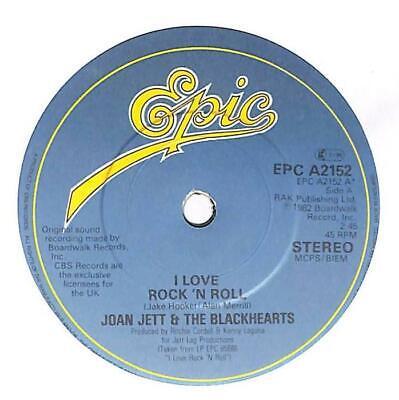"Joan Jett & The Blackhearts - I Love Rock-N-Roll - 7"" Vinyl Record Single"