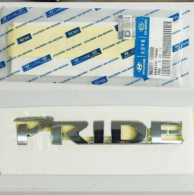 PRIDE Logo Trunk EMBLEM Badge (Fit: KIA RIO & Hatchback 2006 - 2016)