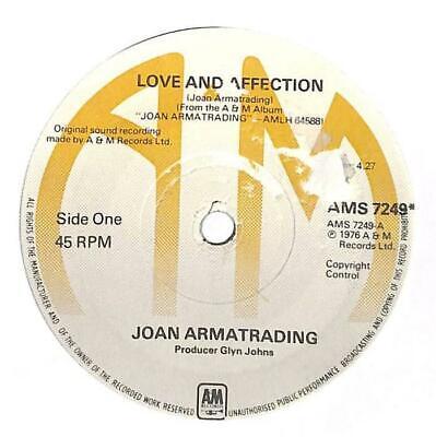 "Joan Armatrading - Love And Affection - 7"" Vinyl Record Single"