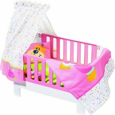 Baby Born Magic Bed Heaven Dolls Bed Accessory With Bruno (Baby Born Magic)