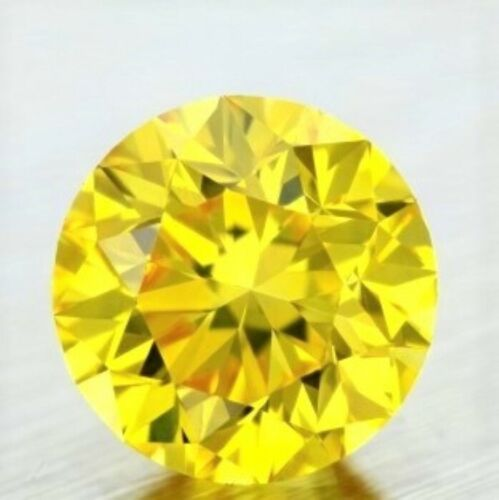 YELLOW DIAMOND GEM ROUND CUT SHAPE AFRICAN GENUINE COLORED NATURAL MINI STUD 2mm