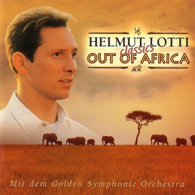 HELMUT LOTTI - CD - OUT OF AFRICA