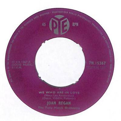 "Joan Regan - We Who Are In Love  - 7"" Vinyl Record Single"