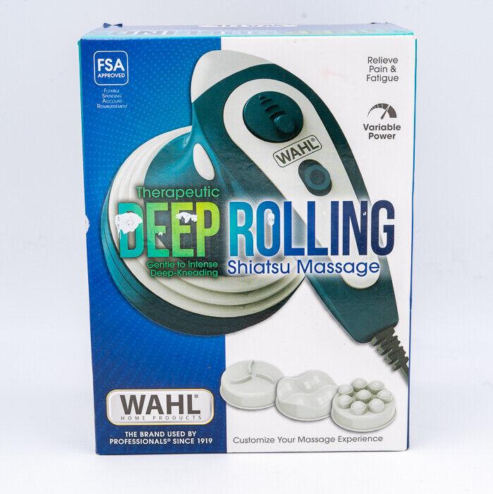 Wahl - Deep Rolling Shiatsu Handheld Massager, Full Body Mas