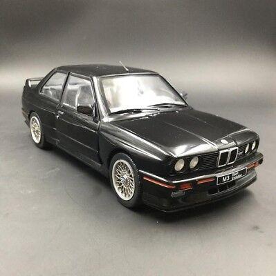Occasion,  1:18 BMW M3 E30 Sport EVO Black Solido S1801501  1/18 d'occasion  Expédié en Belgium