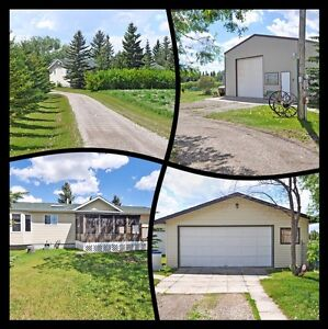 CALGARY ACREAGE SHOP AND HOME FOR SALE