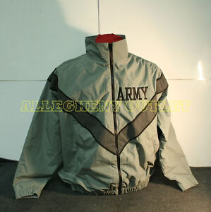 USGI-ARMY-MILITARY-IPFU-Physical-Fitness-Training-PT-Sweat-JACKETS-COAT-TOP-MINT
