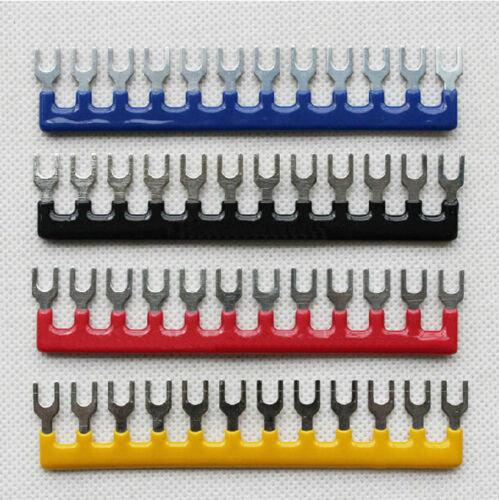 5Pcs 12 Postions 400V 10A Pre Insulated Terminal Barrier ...
