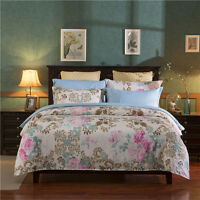 Oukr Single Double Queen King Bed Set Pillowcase Quilt Duvet Cover Floral Hkfg O - unbranded - ebay.co.uk