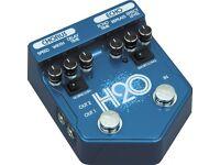 Visual Sound H20 V2 Effects Pedal Chorus/Delay