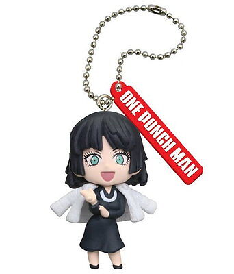 One Punch Man Anime Mascot SD Figure Keychain Blizzard of Hell ~ Fubuki @83808