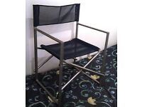 CAMPING / FISHING / DIRECTORS FOLDING CHAIR VERY STRONG HEAVY DUTY