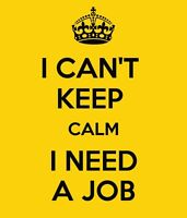 Part Time Job Needed!!