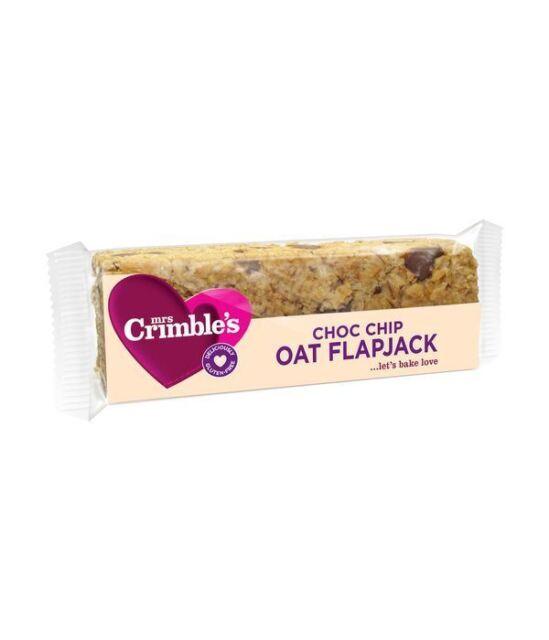 Mrs Crimbles  Chocolate Chip Flapjack 65g x 18