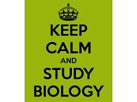 Biology Tutor (all levels)