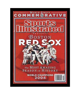 Hobby Frames Magazine Display Frame Fits Sports Illustrated - BLACK - REAL WOOD