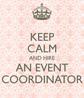 Day-Of-Wedding or Special Event Coordinator