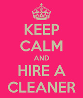 Organic Cleaning Services Immediate Opening Weekly