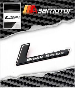 Black Series Trunk Emblem Badge for Mercedes AMG C E S C36 C63 E55 S65 CLK SL