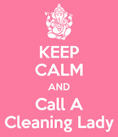CLEANING LADY AVAILABLE TODAY!
