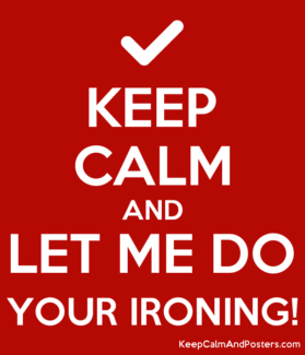 HATE IRONING OR SIMPLY DONT HAVE THE TIME???