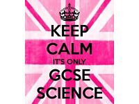 GCSE and BTEC Science Tutoring- Qualified and Experienced Teacher