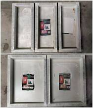 5 NEW STEEL INSERTS Frames Wall Niche OFF WHITE Ardross Melville Area Preview