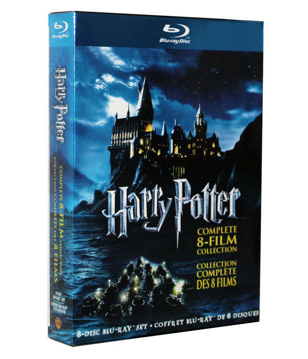 Купить BLU-RAY Harry Potter: Complete 8-Film Collection  set (Blu-ray, 2011, 8-Discs)