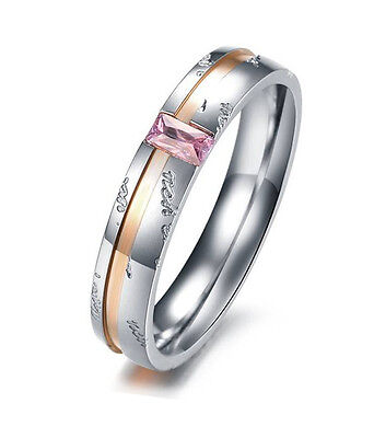 - Stainless Steel Inspirational Message Ring